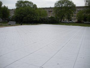 Portable compound flooring