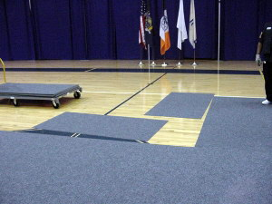 Gym protection flooring